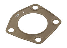 Exhaust manifold gasket for Kawasaki 750/900