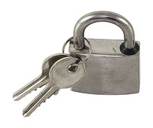 Stainless steel padlock 40 mm