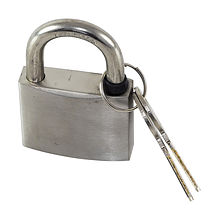 Stainless steel padlock 50 mm
